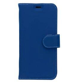 Wallet TPU Booklet LG Q7 - Blue