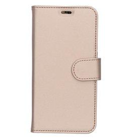 Wallet TPU Booklet LG Q7 - Gold