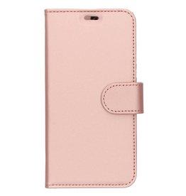 Wallet TPU Booklet LG Q7 - Rose Gold