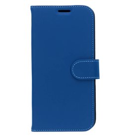 Wallet TPU Booklet iPhone Xs Max - Blauw