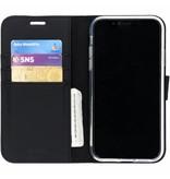 Wallet TPU Booklet iPhone Xr - Black