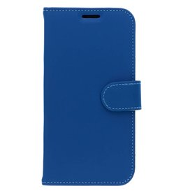 Wallet TPU Booklet iPhone Xr - Blauw