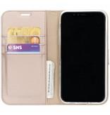 Wallet TPU Booklet iPhone Xr - Goud