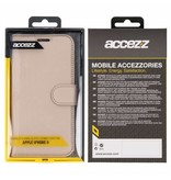 Wallet TPU Booklet iPhone Xr - Gold