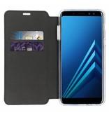 Xtreme Wallet Samsung Galaxy A8 (2018) - Blauw