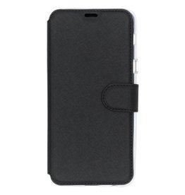 Xtreme Wallet Samsung Galaxy A6 Plus (2018) - Zwart