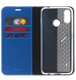 Wallet TPU Booklet Huawei P Smart Plus - Blauw