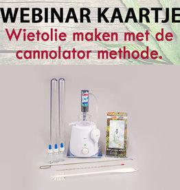 Webinar Cannolator