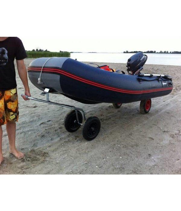 Talamex Rubberboot boegtrolley - Boot transport neuswiel