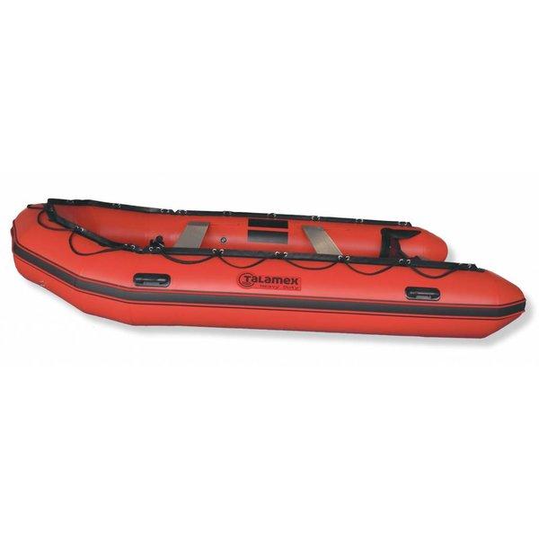 Heavy Duty HDX 450 aludeck rubberboot / reddingsboot