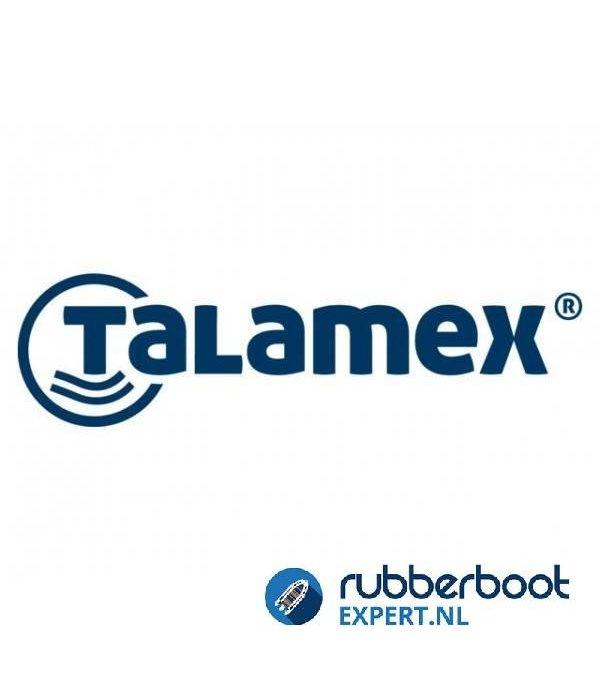 Talamex 2 stuks Fenderlijn diameter 8 mm lengte 2,5 meter met oog