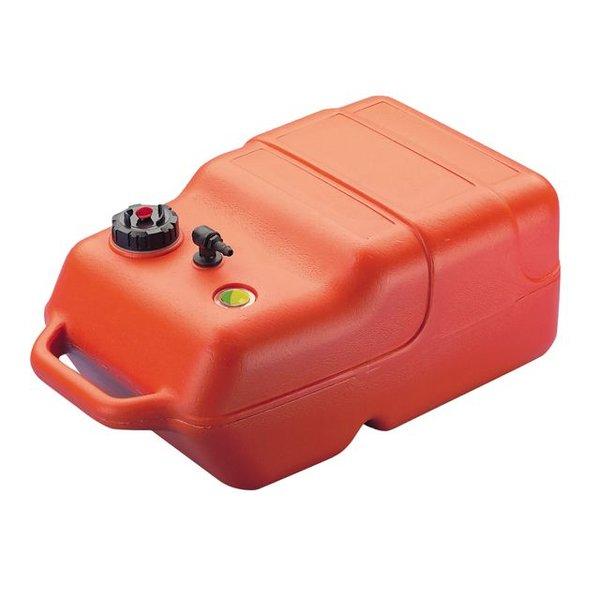 Brandstoftank 22 Liter met tankmeter voor Buitenboordmotor