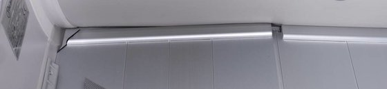 Aluminium vloer rubberboten