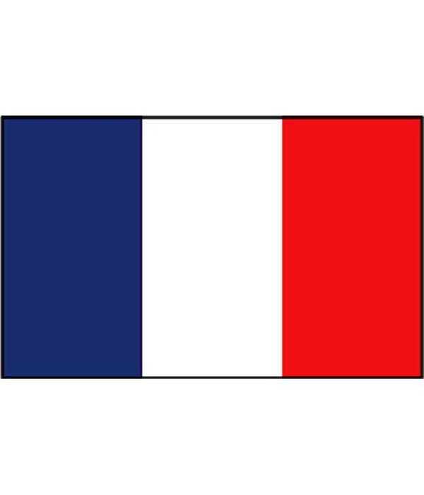 Franse boot vlag 20 x 30 cm
