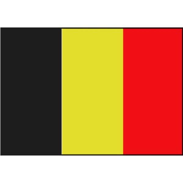 Boot vlag België 20 x 30 cm