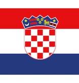 Kroatische boot vlag 20 x 30 cm