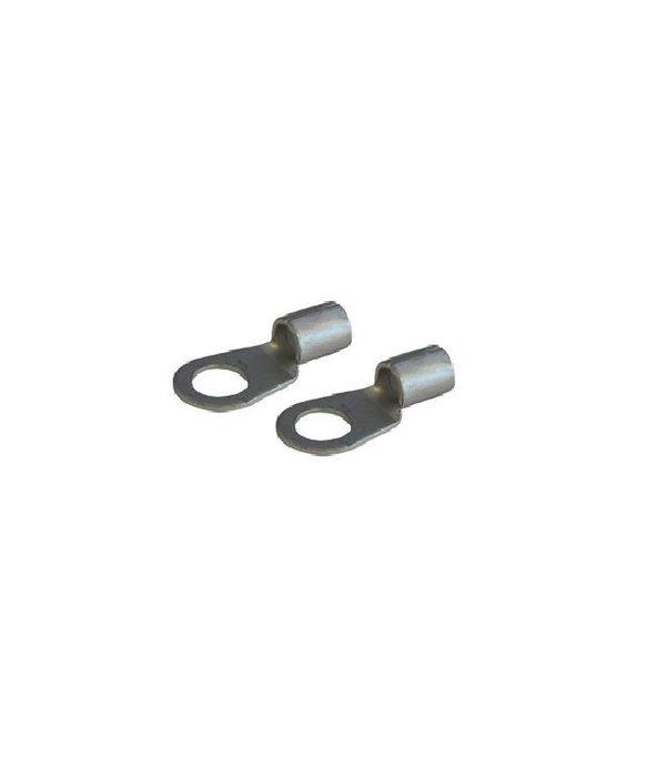 Talamex 2 stuks Kabelschoen voor kabel Ø 25 mm² met oog Ø 10 mm