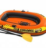 Intex Opblaasboot Explorer PRO 200 Set tweepersoons