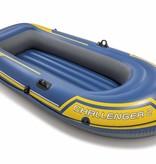 Intex Opblaasboot Challenger 2 Set tweepersoons