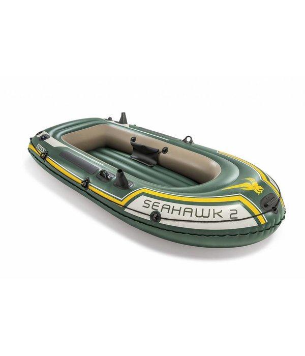 Intex Opblaasboot Seahawk 2 Set tweepersoons