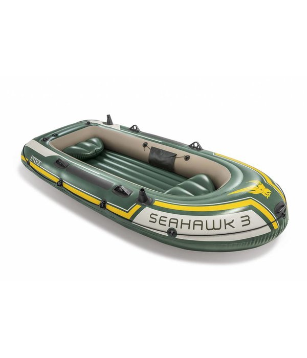 Intex Opblaasboot Seahawk 3 Set driepersoons