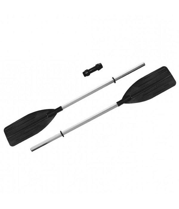Intex Roeipeddel set of kajak peddel aluminium versterkt 122 / 244 cm