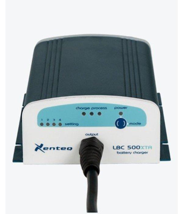Xenteq LBC 524-5XTR acculader 24 volt 5A (waterdicht)