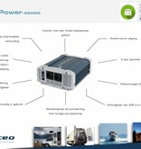 Xenteq ppi-1000-224C zuivere sinus inverter / omvormer 24 Volt 1000 watt