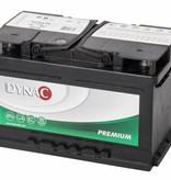 Dynac Start accu 12 volt 74 ah Type 57412L