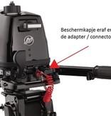 "Brandstof adapter Mercury / Yamaha / Mariner 9,5 mm 3/8"" Female motorzijde"