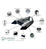 Talamex Rubberboot Aqualine QLX 270 aluminium vloer opblaasboot