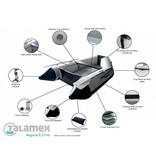 Talamex Rubberboot Aqualine QLX 300 aluminium vloer opblaasboot