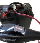 Complete aansluit set voor: fluistermotor, acculader en accubak