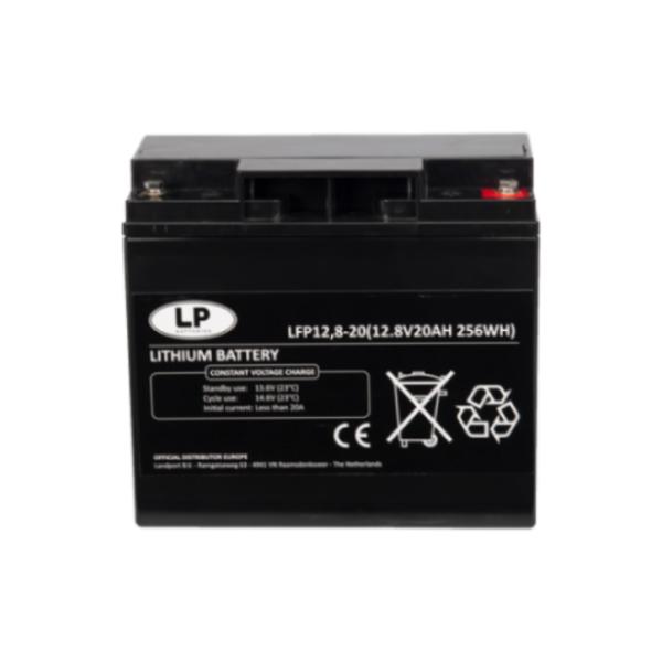 Lithium accu LFP V12-20 LiFePo4 12 volt 20 Ah 256 Wh