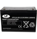 LFP V12-100 12 volt 1280 Wh Lithium LiFePo4 accu
