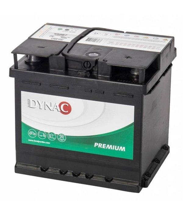 Dynac Start accu 12 volt 50 ah Type 55067
