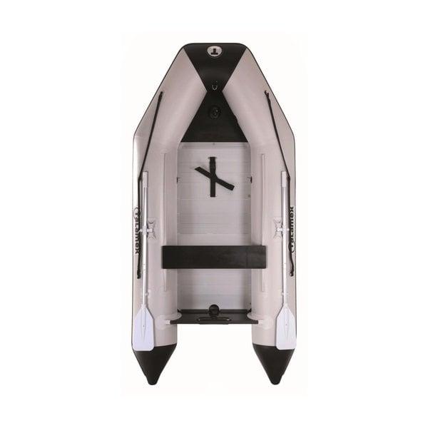 Aqualine QLX 350 aluminium vloer Rubberboot