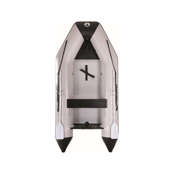 Aqualine QLX 300 aluminium vloer Rubberboot