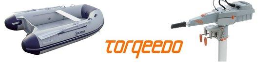 Boot + Torqeedo elektromotor