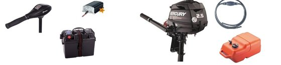 Fluister & Benzine motor sets