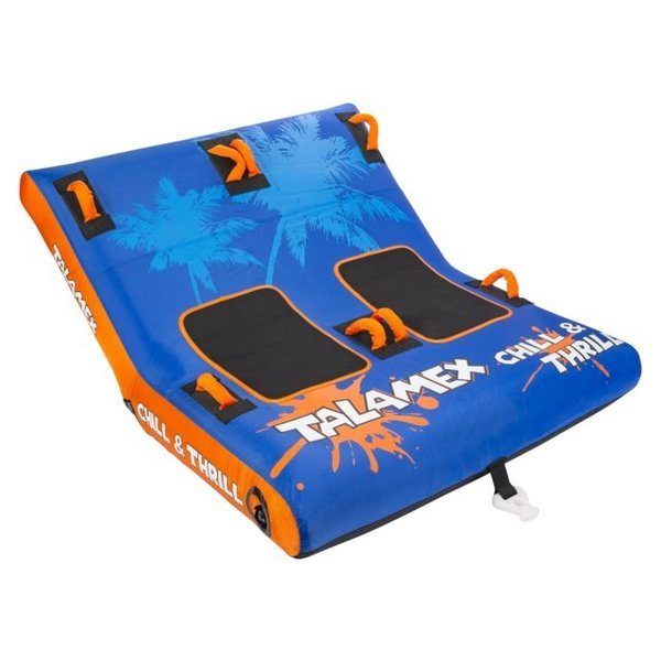 Funtube CHILL & THRILL 2 persoons 230 x 152 cm