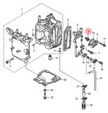 Quicksilver Thermostaat voor 8 en 9,9 pk buitenboordmotor