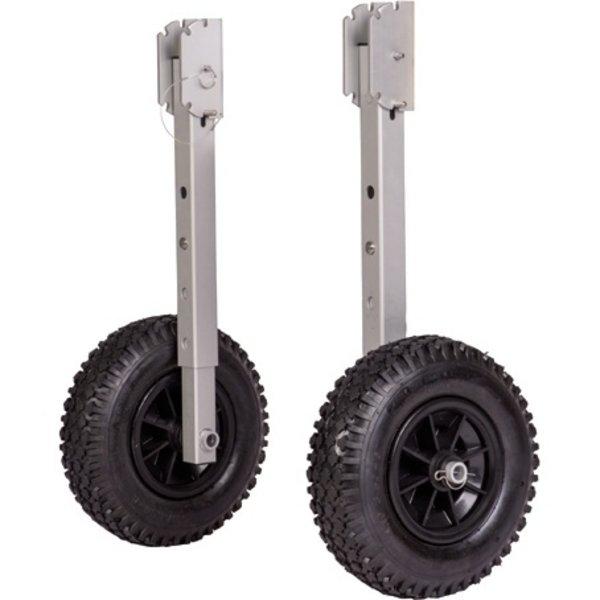 Transportwielen met spiegel bevestiging