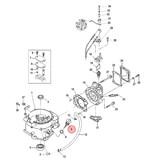 Mercury Oliepeilstok voor 4, 5 en 6 pk buitenboordmotor