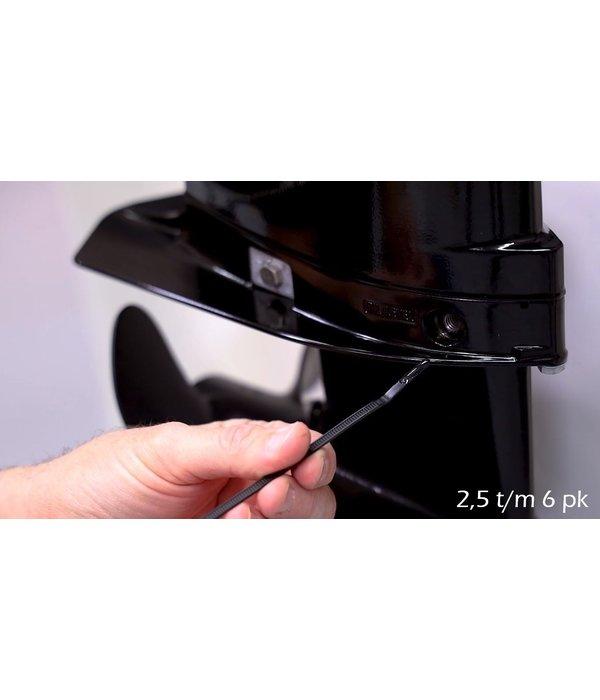 Quicksilver Staartstuk olie tube 237 ml 80W-90 voor buitenboordmotor
