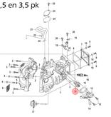 Quicksilver Thermostaat voor 2,5 t/m 6 pk buitenboordmotor