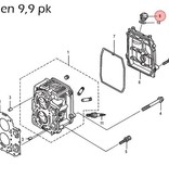 Mercury Olievuldop voor 2,5 t/m 9,9 pk buitenboordmotor