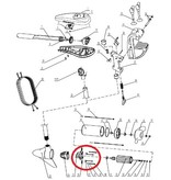 Talamex Koolborstelhouder voor Talamex TM30/40/48 fluistermotor
