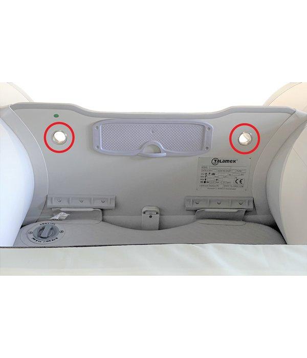 Talamex RVS hijsoog rubberboot spiegel 18 mm