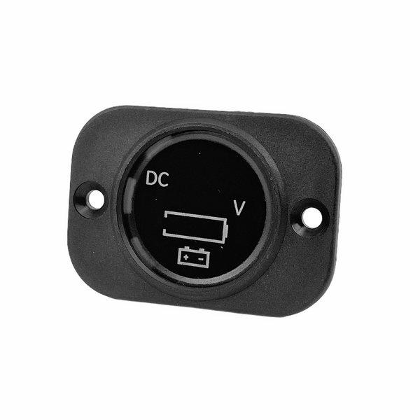 Frame met voltmeter en accu indicator 5-30V